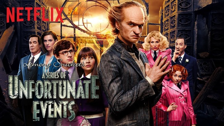 A Series Of Unfortunate Events - Officially Renewed for a 2nd Season *Updated with Video*