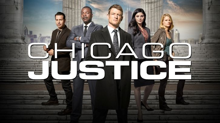Chicago Justice - Cancelled by NBC