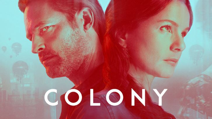 Colony - SpoilerTV Comic Con Interviews with Cast