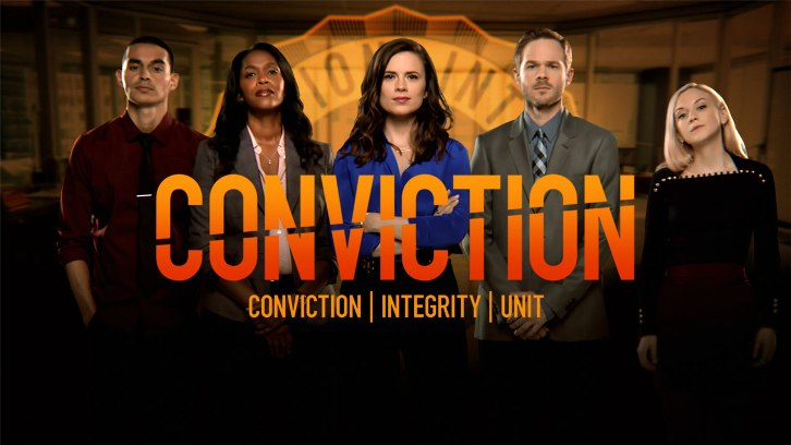 Conviction - Pilot - Advanced Preview - Happy endings with Hayley Atwell
