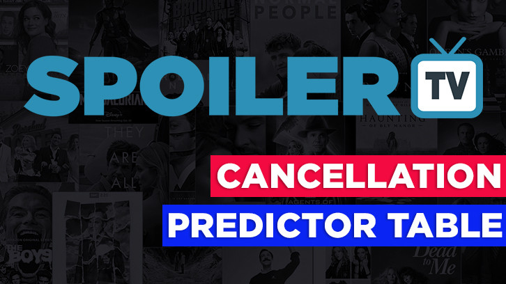 SpoilerTV Cancellation Predictor Table 2016/17 *Updated 25th February 2017*