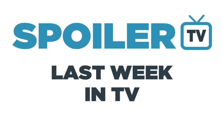 Last Week in TV - Week of Oct. 30 - Reviews and Awards